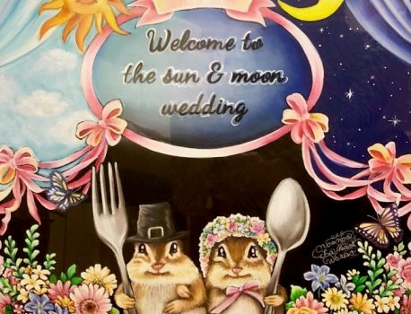 The sun & moon wedding
