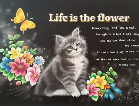 Life is the flower(猫)