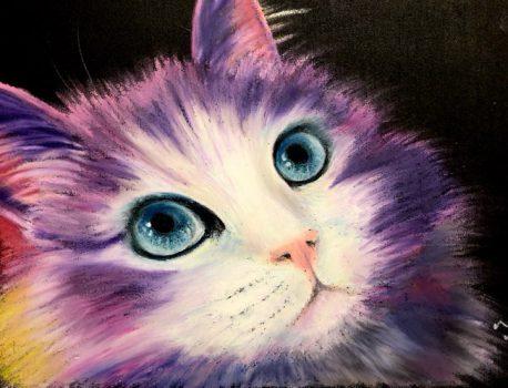 カラフル猫