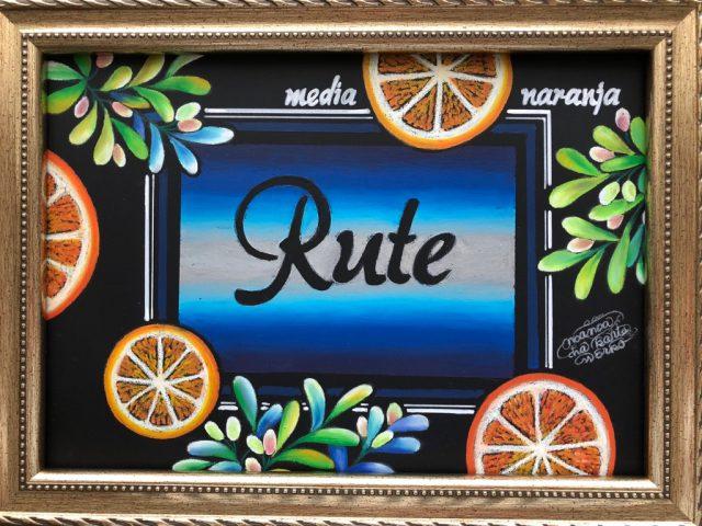 「Rute」様看板