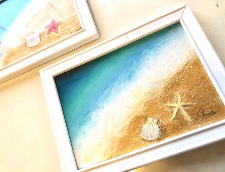 7月セミナーはホワイトボードに描く海辺
