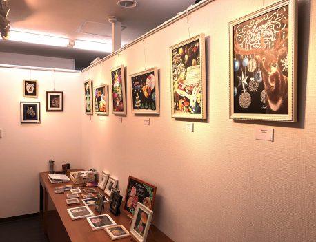 『第2回チョークアート大阪カレッジ協会展』