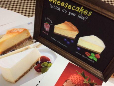 3月セミナー『どっちのチーズケーキが好き?』